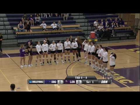 Women's Volleyball  Dubuque vs Loras 9 20 16