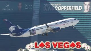 Stunning Plane Views from LAS VEGAS & the Strip!