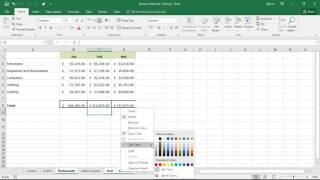 Group Sheets in Excel - Magic Trick for Excel Productivity