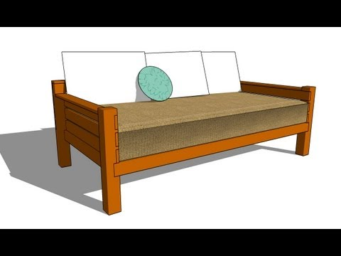 How to build a daybed