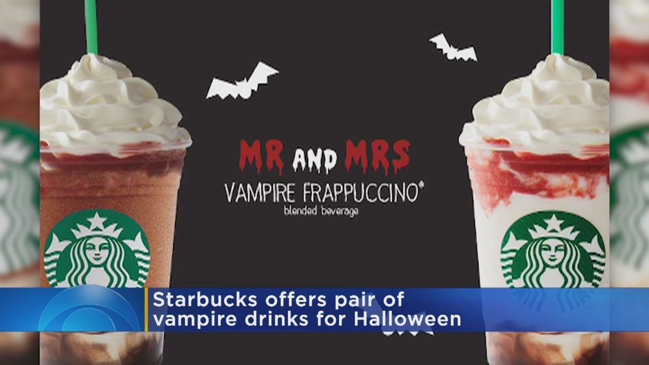 starbucks brewing up spooky drinks for halloween - youtube