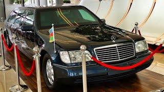 БРОНЬ S-Class W140 и другие авто-СОКРОВИЩА из центра Гейдара Алиева в Баку – сумасшедшая коллекция!)