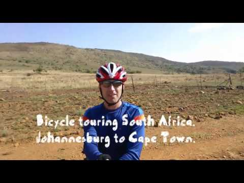 South Africa Bicycle Trip. Johannesburg - Capetown.