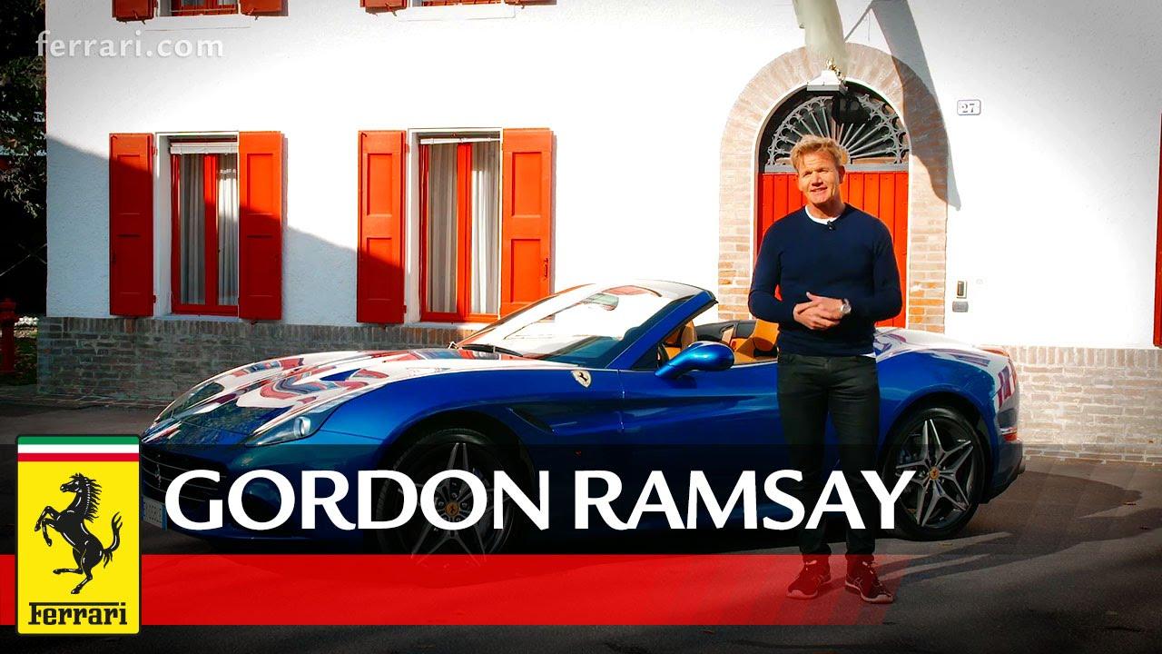 Ferrari California T State of the Art - Gordon Ramsay