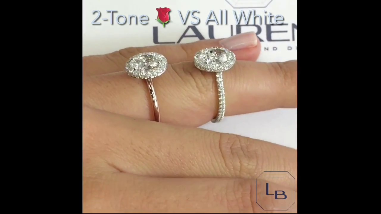 Oval Diamond Halo Engagement Rings YouTube
