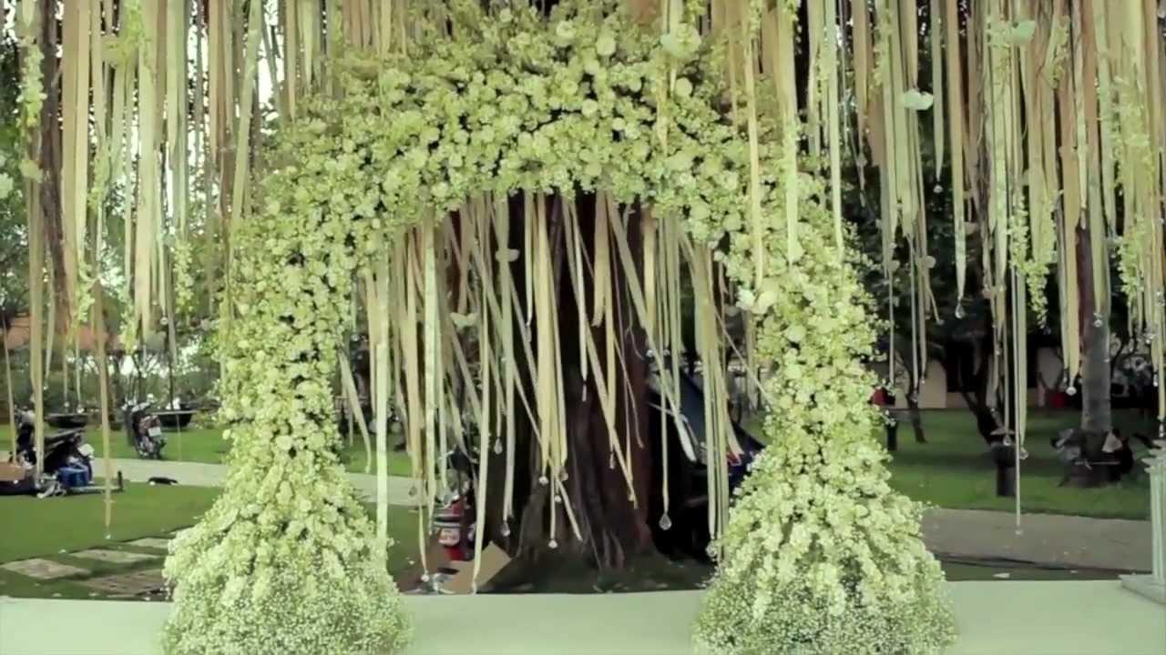 Unforgettable Garden Wedding Decor: Unforgettable Wedding By Misa Vu