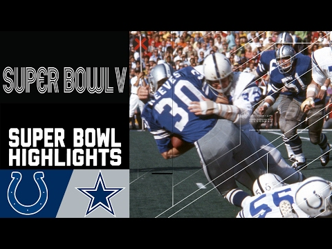 Super Bowl V Recap: Colts vs. Cowboys | NFL