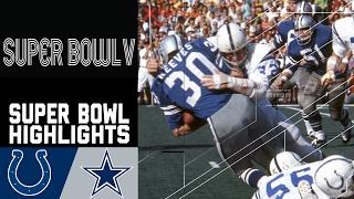 Super Bowl V Recap: Colts vs. Cowboys | NFL