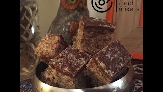 How to make Summer Roll (chocolate, nutty nougat slice) in your Thermomix