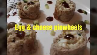 How to make Egg pinwheel (Mona