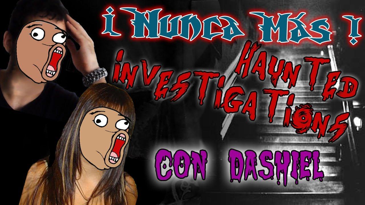 Download ¡No juego más! - Haunted investigations con Dashiel