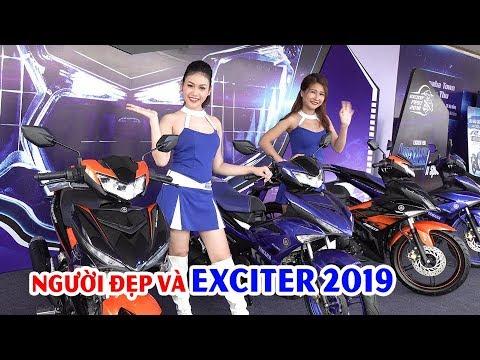 Ngắm Người đẹp và Xe Exciter 2019 tại Đại hội EXCITER FEST 2018 ▶