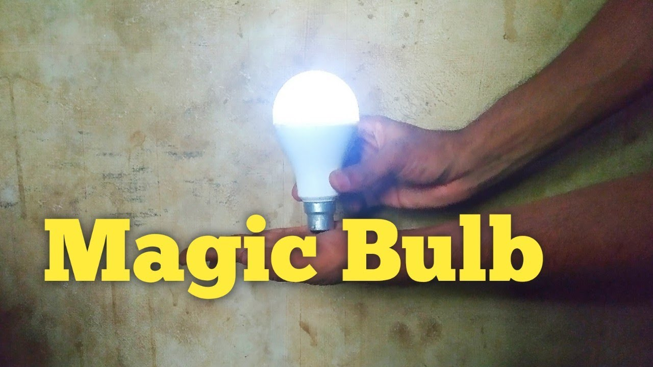 Download Magic Led Bulb Light Touch Switch Circuit
