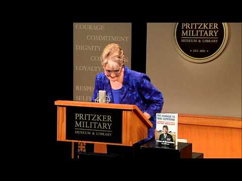 Jill Morgenthaler at the Pritzker Military Museum & Library