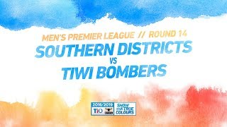 Southern Districts vs Tiwi Bombers: Round 14 - Men