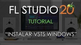 FL STUDIO 20 - Cómo instalar plugins/vsts en Windows
