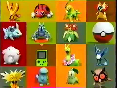 Pokemon Gold/Silver Silver Toys Commercial