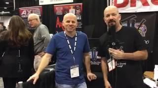 Jimmy Keegan Interview at Namm 18 on Drum Talk TV