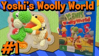 Yoshi's Woolly World 100% - Let's Play Part 1 (English 60FPS)