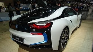 BMW i8 Hybrid Sports Car - Dubai International Motor Show 2013!!