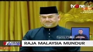 Raja Malaysia Sultan Muhammad V Mengundurkan Diri Secara Mendadak