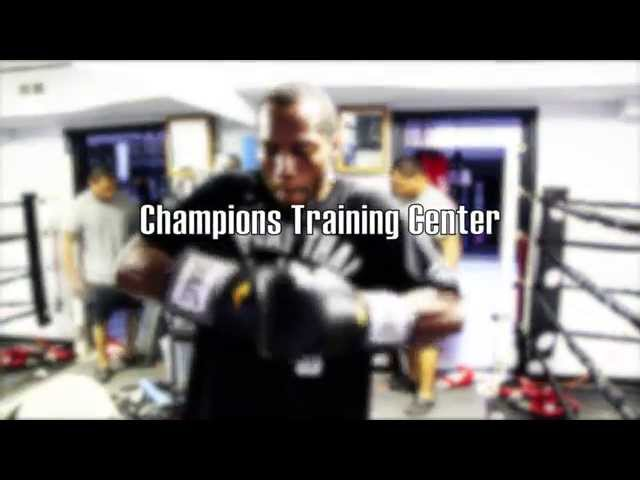 Boxing Training and Pad Work with Coach Norman Jones
