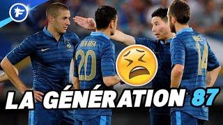 Génération 87, la génération gâchée du football français Video