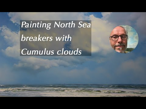 Painting 'North Sea Breakers'