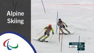 Women's Slalom Run 2 |Alpine Skiing | PyeongChang2018 Paralympic Winter Games