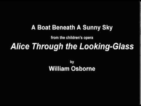 A Boat Beneath A Sunny Sky by William Osborne