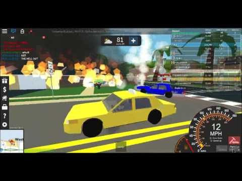 Roblox Ultimate Driving: Westover Islands Taxi Car!