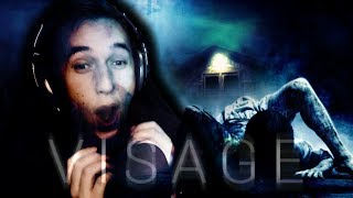 THE MOST TERRIFYING GAME OF THE YEAR!!   VISAGE Episode 1    Horror GAME REACTION!