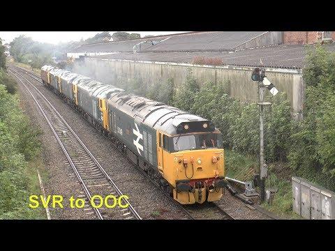 """""""50049.50007.50044.50035. D1015. 0Z50"""" Kidderminster SVR to Old Oak Common"""