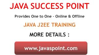 JAVA J2EE Training Course Ashok Nagar Chennai