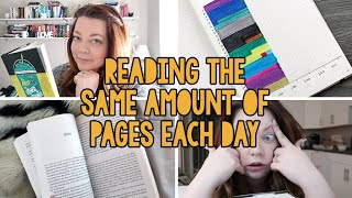 reading 116 pages every day for a month