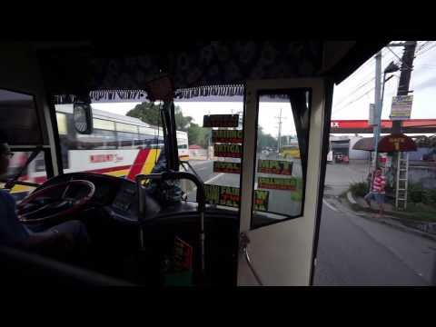 Philippines,  bus ride from Star Mall to SM City San Jose Del Monte