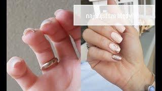 Błedy przy manicure hybrydowym / dlaczego odchodzi
