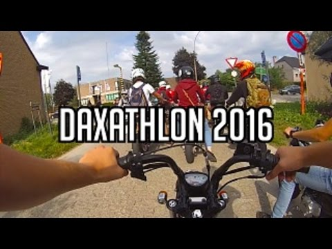 Daxathlon 2016 - Mini 4 Stroke Meeting