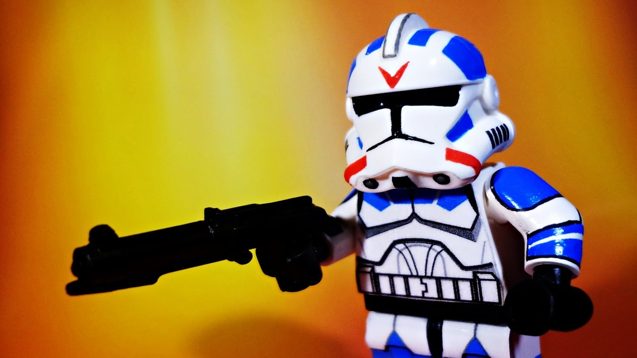 lego star wars the clone wars custom 501st jet trooper