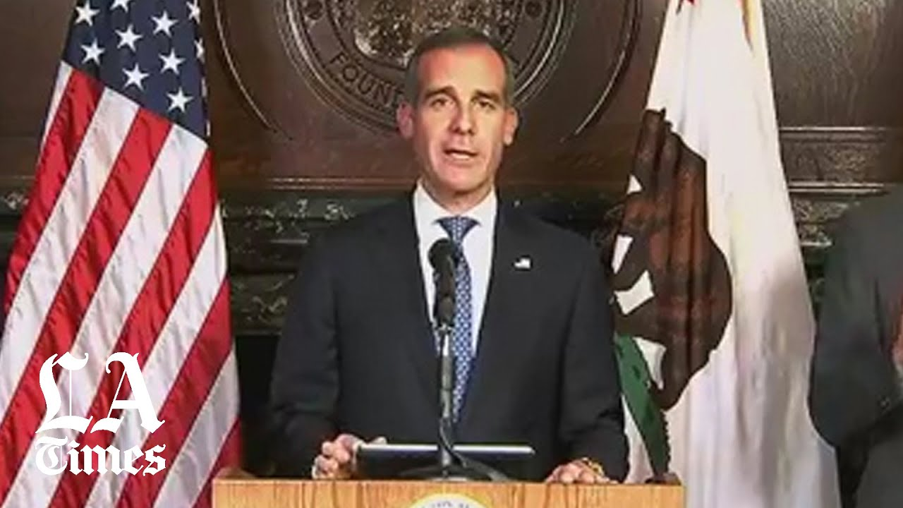 L.A. coronavirus update: Mayor Garcetti announces changes to L.A.'s parking and police force