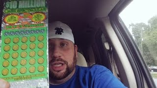 "$10,000,000 Scratch Off Winner?! ""Live Reaction"""