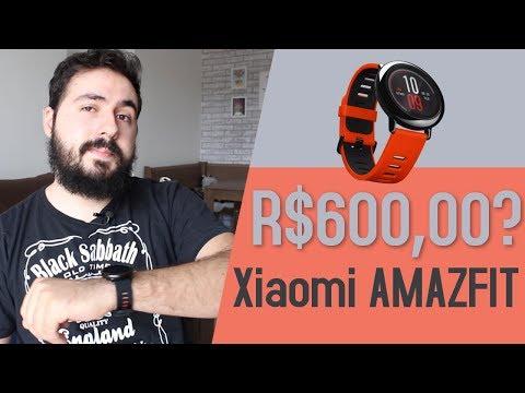 Smartwatch Xiaomi AMAZFIT - Review