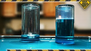 why-does-a-candle-make-water-rise