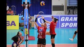 AVC WOMEN'S U23 VOLLEYBALL CHAMPIONSHIP 2019   QF   THA - TPE