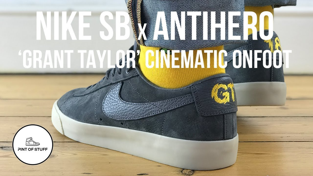 Qs B On Zoom Low Pro Sneaker Of Cinematic Blazer Antihero Nike Foot 'gt' Mr Review X Sb With vm8nwN0