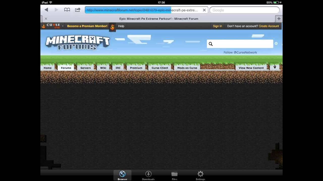 How to download maps on minecraft pe with computer