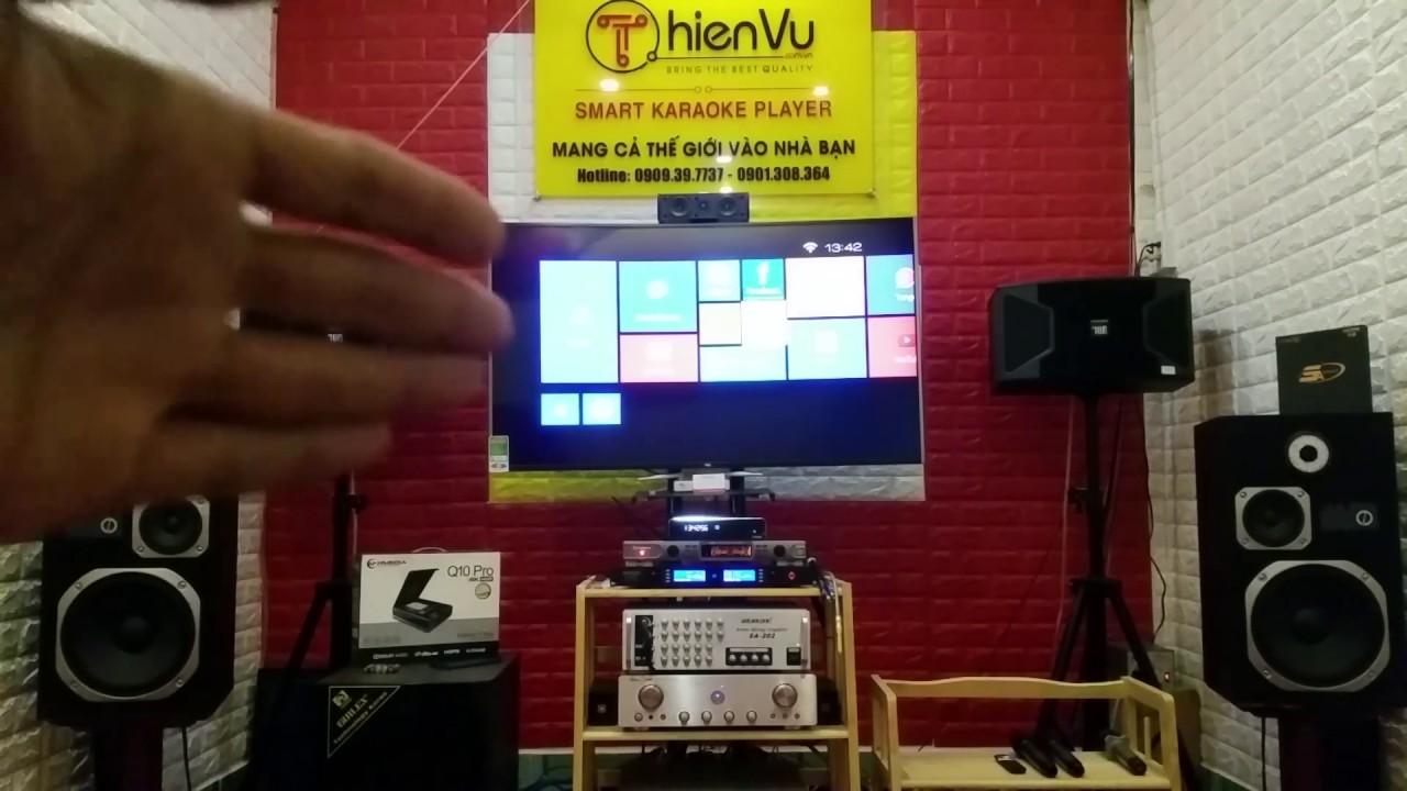 Đầu Karaoke Gia Đình 4K Cao Cấp Hay Nhất Hiện Nay tại Thiên Vũ