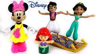 DISNEY TOYS COLLECTION WITH PRINCESSES MICKEY MINNIE MOUSE & MORE