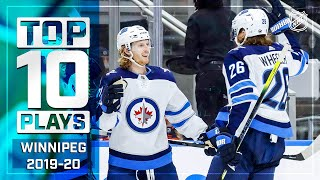 Top 10 Jets Plays of 2019-20 ... Thus Far   NHL