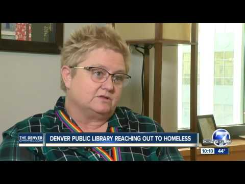 Denver Public Library hires peer navigators to help homeless get back on their feet